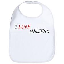 I Love Halifax Bib