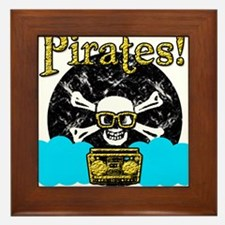 Pirates! Framed Tile