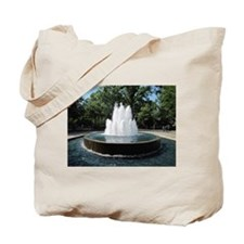 Fountain in a Park Tote Bag