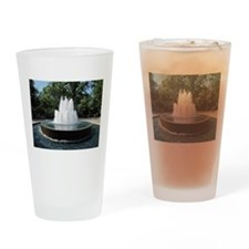 Fountain in a Park Drinking Glass