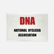 Dyslexia Association Rectangle Magnet (10 pack)