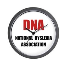 Dyslexia Association Wall Clock