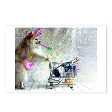 POMERANIAN Postcards (Package of 8)