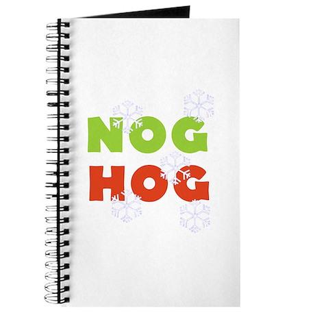 Nog Hog Christmas Journal