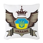 Ukraine Woven Throw Pillow