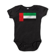 United Arab Emirates Flag Baby Bodysuit