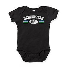 Uzbekistan 1991 Baby Bodysuit