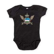 Uzbekistan Emblem Baby Bodysuit