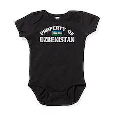 Property Of Uzbekistan Baby Bodysuit