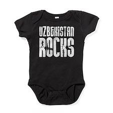 Uzbekistan Rocks Baby Bodysuit
