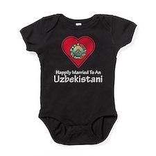 Happily Married Uzbekistani Baby Bodysuit