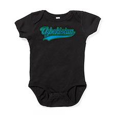 Retro Uzbekistan Baby Bodysuit