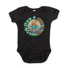 Uzbekistan Coat Of Arms Baby Bodysuit