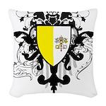 Stylish Vatican City Woven Throw Pillow