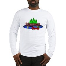 "Minnesota""Land of the Olsons"" Long Sleeve T-Shirt"