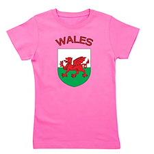 Wales Girl's Tee