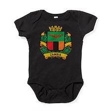 Stylish Zambia Crest Baby Bodysuit