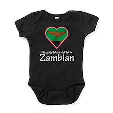 Happily Married Zambian Baby Bodysuit