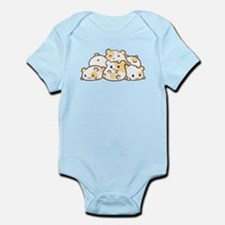 Kawaii Hamster Pile Body Suit