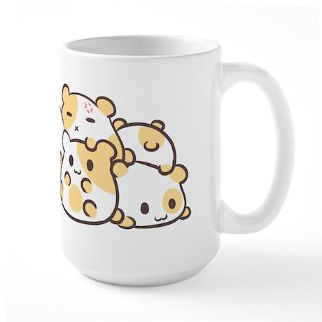 Kawaii Hamster Pile Mug