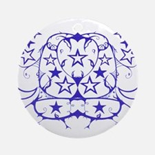 Star Tribal Ornament (Round)