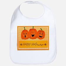Darling Happy Halloween Bib