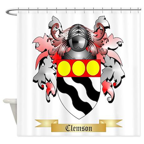 Clemson Shower Curtain
