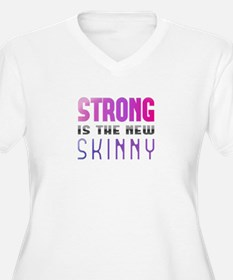 Strong is the new Skinny Purple T-Shirt