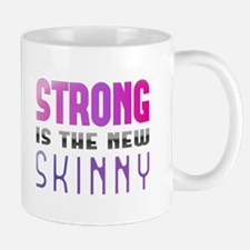 Strong is the new Skinny Purple Mug