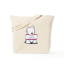 Vital Signs: HAPPY Tote Bag