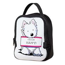 Vital Signs: HAPPY Neoprene Lunch Bag
