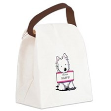 Vital Signs: HAPPY Canvas Lunch Bag