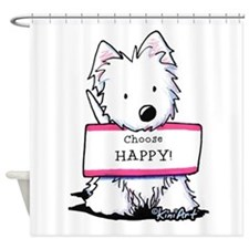 Vital Signs: HAPPY Shower Curtain