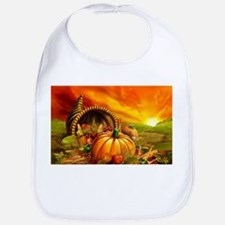 A Thanksgiving Bountiful Harvest Bib