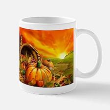 A Thanksgiving Bountiful Harvest Mug