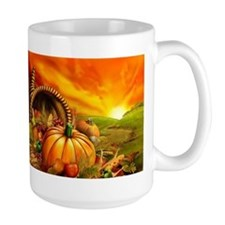 A Thanksgiving Bountiful Harvest Mug