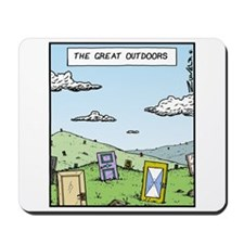 The Great outdoors Mousepad