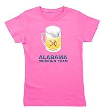 Alabama Drinking Team Girl's Tee