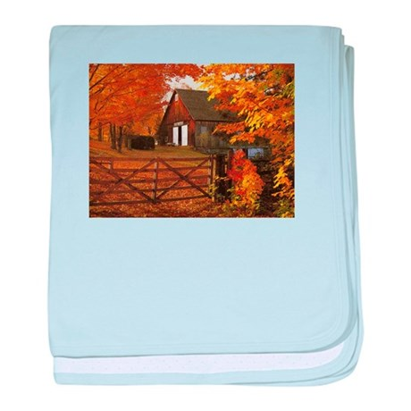 Autumn Barn love baby blanket