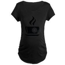 Morning Coffee Maternity T-Shirt