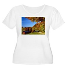 Country Glory in the Fall Plus Size T-Shirt