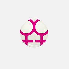 Lesbian Mini Button (10 pack)