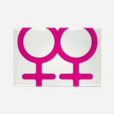 Lesbian Rectangle Magnet