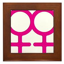 Lesbian Framed Tile