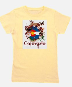 Butterfly Colorado Girl's Tee