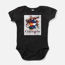 Butterfly Colorado Baby Bodysuit