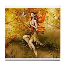 Fall Fairy Tile Coaster