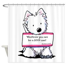 Vital Signs: EXCEL Shower Curtain