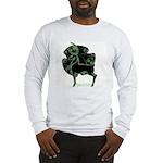 Herne #1 Long Sleeve T-Shirt - Wht/Gr