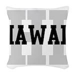 HI Hawaii Woven Throw Pillow
